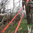 Dragging out a deer, like with this Heavy Hauler Outdoor Gear harness, can be taxing even for healthy hunters. Being in shape can help you in the woods when you're hauling out a buck or doe.