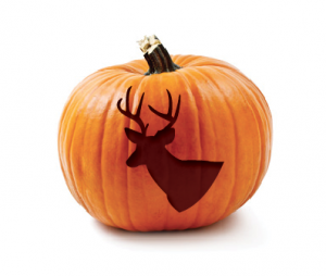 Deer Pumpkin Carving Template