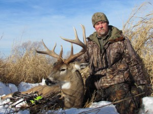 Don Higgins with Big Buck