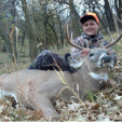 Drew Musso of Alabama with his South Dakota buck