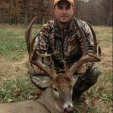 Deer hunters have great success in Arkansas each season, like Drew Weir and his his monstrous 23-point buck he killed in Benton County,  Arkansas.