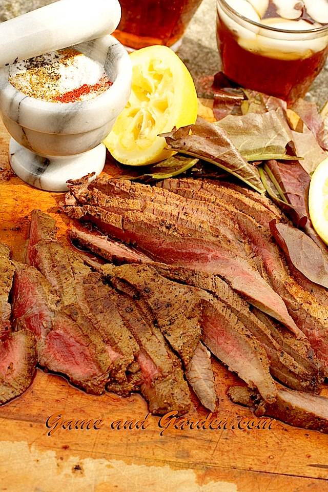 A good dry rub can help tough cuts of venison or beef.