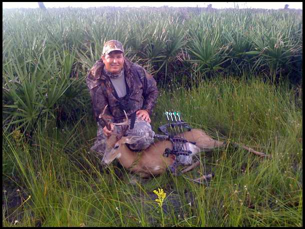 Hunting in Florida's south Zone A can be challenging.