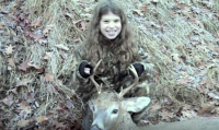 First Deer Friday: Rachel's Expression Says it All