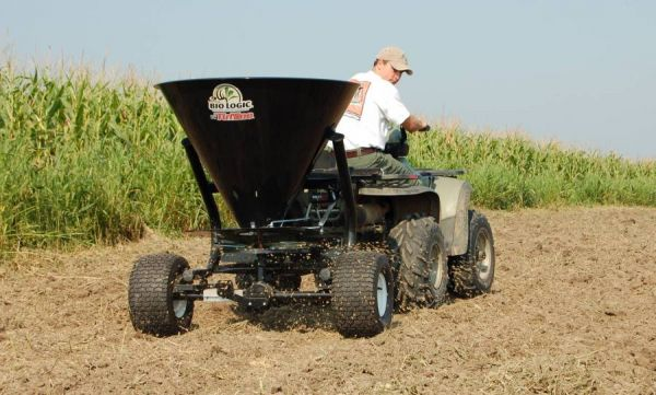 If you're going to plant food plots, take time to get your fertilizer application rates established to maximize the plot's growth. (Photo: Mossy Oak BioLogic)