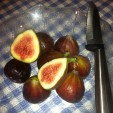 Figs are a nice, sweet compliment to venison or a great appetizer with venison poppers.