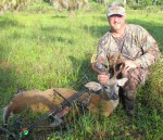 After running away twice and returning a third time, this Florida buck's curiosity proved fatal. (Photo: Dane Walker)