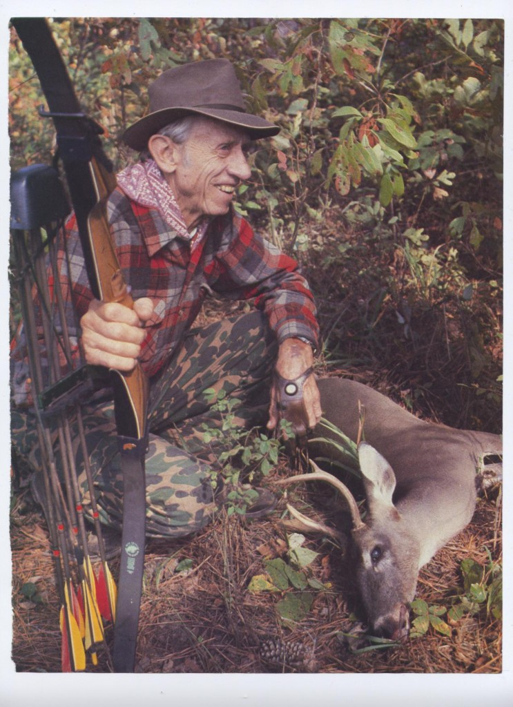Fred Bear's last deer.