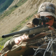 Zero your rifle scope and practice off a bench, with shooting sticks and also in freehand positions so you'll be prepared. (Photo: Wayne Van Zwoll)