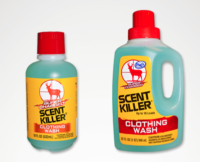 GEB Wildlife Research liquid clothing wash