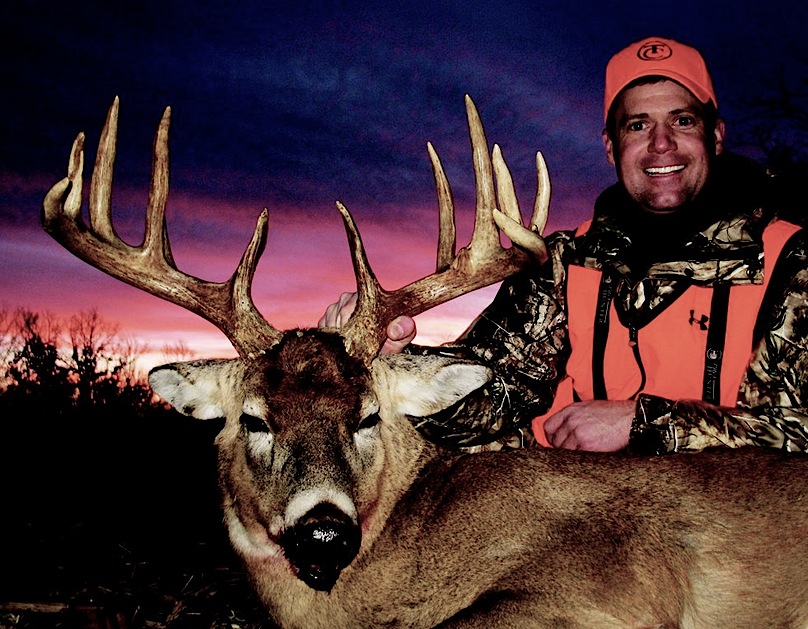 Gregg Ritz knows the importance of a supportive family during hunting seasons.
