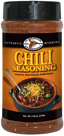 Hi Mountain Seasonings new Chili Seasoning is sure to be a hit.