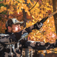 Trimming branches around your stands is one way to eliminate potential hazards for hunting in high wind.