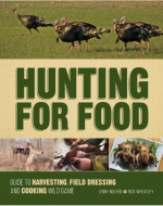 Hunting for Food:  A Guide to Harvesting Field Dressing and Cooking Wild Game is available now for pre-order at ShopDeerHunting.com and will be released in July 2015.