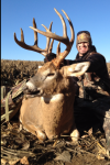 BuckVenture's Brandon Danker and his monster 10 pt in Iowa.