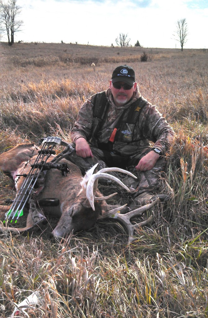Iowa buck taken at Tails of the Hunt in So. West Iowa