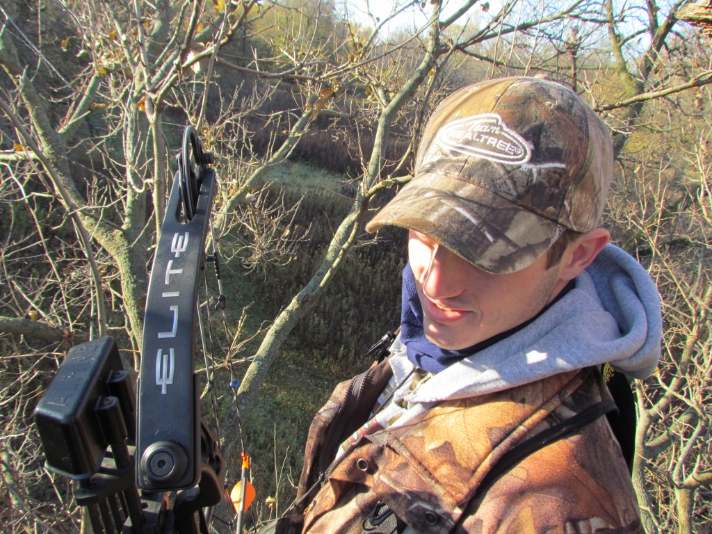 My hunting buddy Tate rocking the Elite Answer!