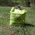 Hurricane Bag target stops the arrow with a resounding thwock!