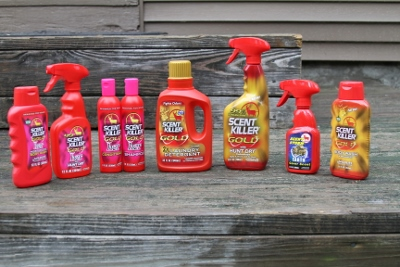 Wildlife Research Center offers a variety of scent control products and cover scents.