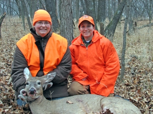 Iowa officials have been vigilant about testing for CWD and hunters have helped by allowing wild deer to be tested.