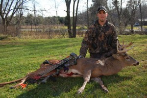 Jordan Olson of Wisconsin with a Big Buck