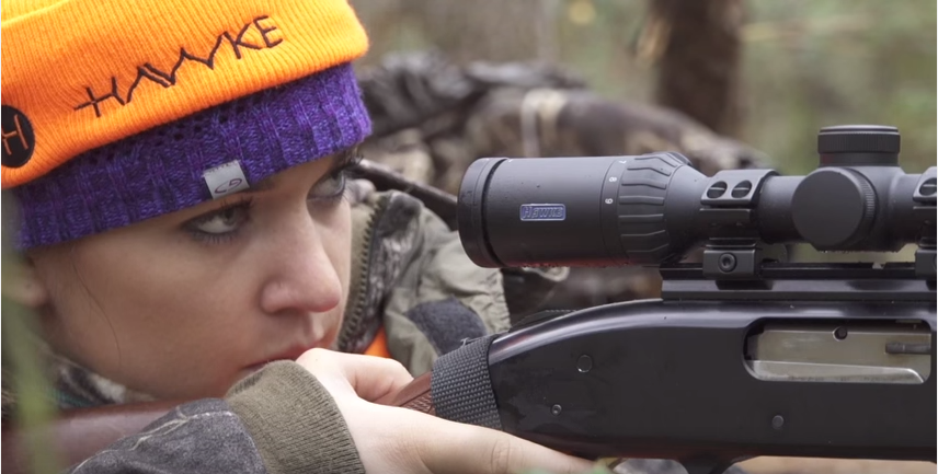 With doe management part of the plan, Katie Pavlich could be helping the landowner by killing a deer.