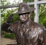 Kentucky Conservation Officer statue