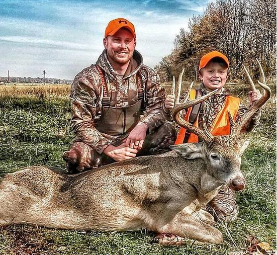 Super buck for this young hunter in Kentucky. Way to go!