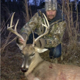 Kid Rock, who's name is William Ritchie, killed this nice buck while on a hunt in Alabama.