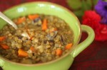 Lentil Soup with Venison and Sausage hits the spot on a chilly autumn evening! (Photo: GameandGarden.com)