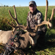 Mark Drury of Drury Outdoors killed this magnificent 197-inch mule deer while hunting with 3 Rivers Adventures in Alberta, Canada. Drury was using a PSE Dream Season SP and Rage Xtreme 2.3 on the hunt. (Photo: Drury Outdoors)