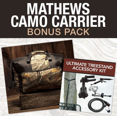 Mathews Camo Carrier Value Pack