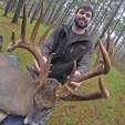 Matt Moss with his 216-inch triple beam Mississippi monster buck! (Photo: Mississippi Sportsman)