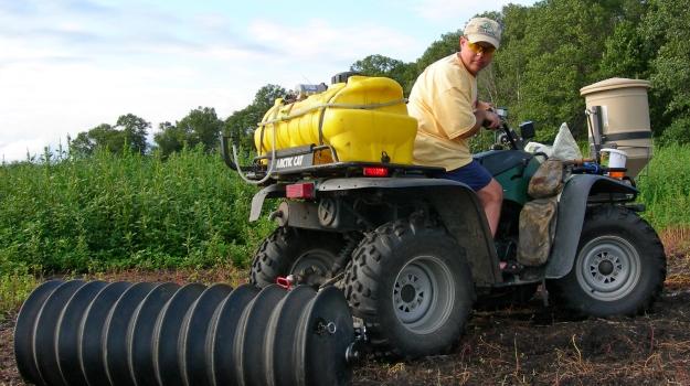 Mossy Oak ATV planting