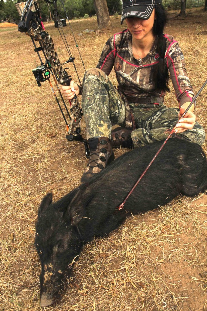 Nicole McClain found the new Rage Kore broadhead to have devastating, lethal results!