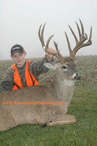 Giant Iowa Deer is Best for Nick Mattly
