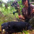 DDH contributor Nicole McClain put a new Rage Kore through this Texas hog and found devastating results with the broadhead!