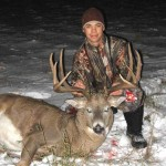 Nolan Johnson killed this great buck in 2010 in Saskatchewan.