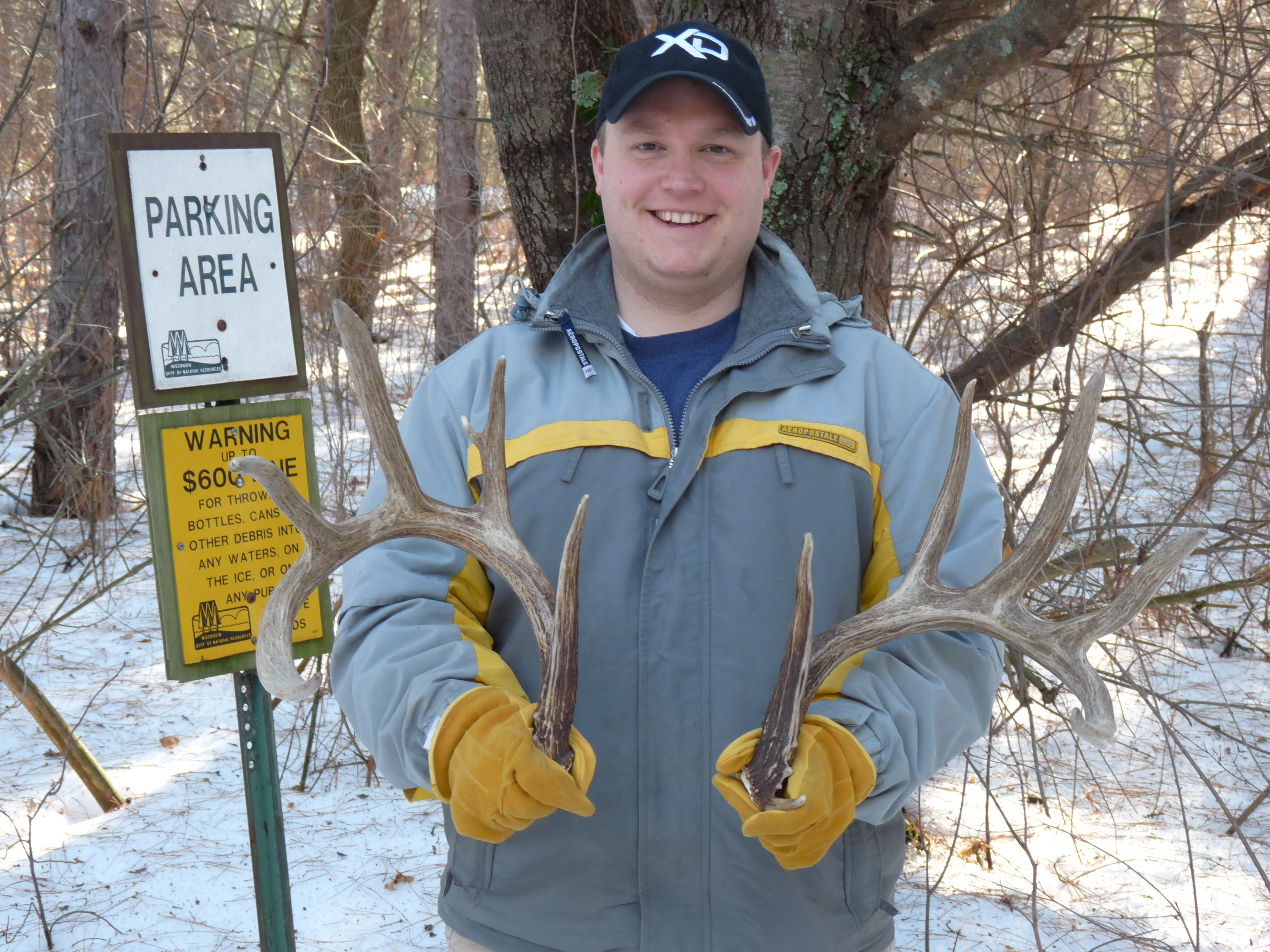 Finding Shed Antlers - whitetail deer hunting