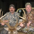 Chad John, manager of Sugar Creek Outfitters, and Pat