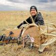 Pete Alfano with a super Oklahoma buck.