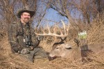 Phil Phillips with a cool Kansas buck!