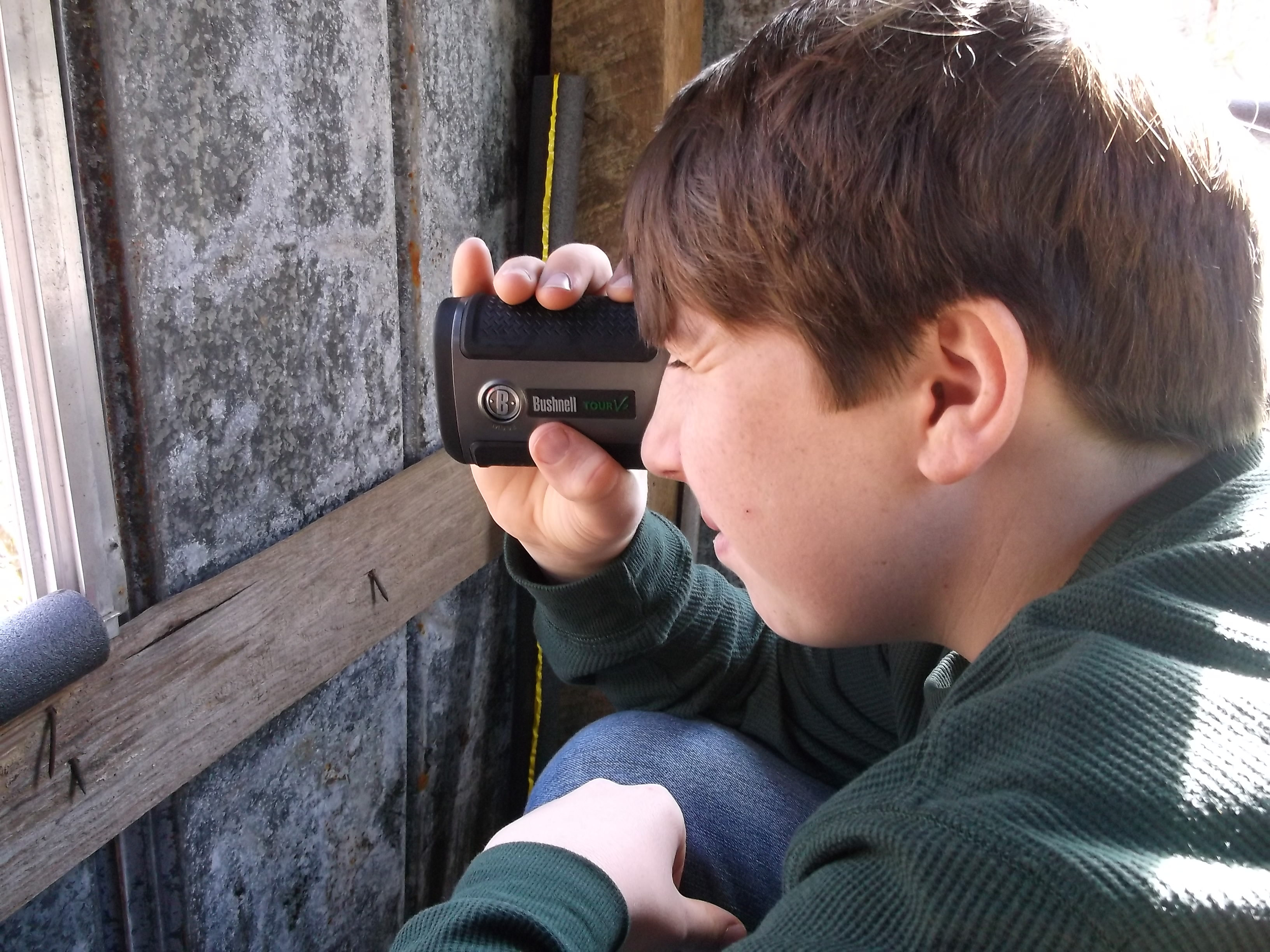 "Rangefinders are great hunting tools and also can be something to help young hunters stay interested, even during those ""dad, this is boring"" moments"" in a blind."