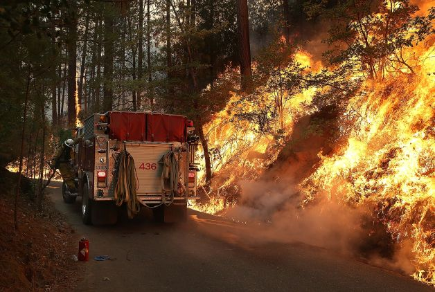 Hunters are asked to use common sense, expect some limited closures in areas of the fire. (Photo: SFGate.com)