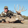 Darron McDougal often pursues bucks by utilizing tactics around rivers, creeks and waterways.