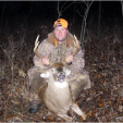 Roland Andrus of Louisiana was using Smokey's lure while hunting in Missouri when this fine buck stepped within range.