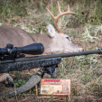 Paired with Trijicon's AccuPower scope and a .30-06 bolt gun, the SilencerCo Harvester is a hunter's best friend.