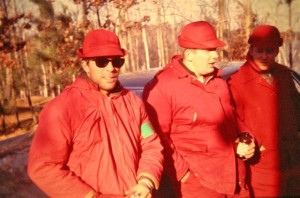 In the late 1960s, red coats were still common attire for deer hunters. (Stump Sitters photo)