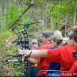 The Indiana State Championship attracted a good group of shooters who were introduced to the Scholastic Archery Association. (Photo: Amy Haley Photography)