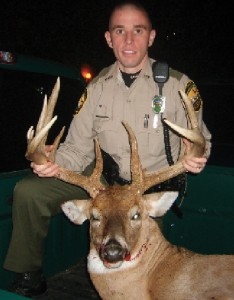 deer hunting poached buck